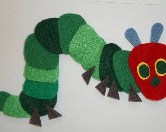 Hungry Caterpillar Flannel Board Set