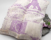 Lavender Heat Pack, Buckwheat, and Rice PARIS Pattern  - Muscles, Shoulder, Hot Pack, Cold Pack, Sports, Neck, Pain, Lavender Flowers