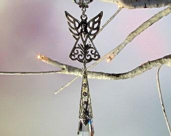 Angel Crystal Sun Catcher & Xmas Tree Ornament