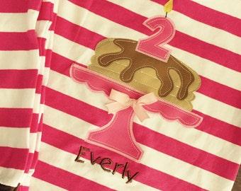 Personalized Pancake and Pajamas Birthday Themed Party PJs