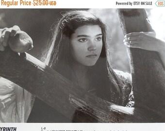Sale 1986 Labyrinth Press Photograph, Jennifer Connelly Sarah, Magic Kingdom, Desire after eating poisonous peach, Tri Star Pictures