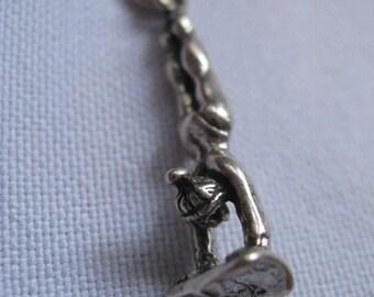 Vintage GYMNASTIC CHARM Bracelet Charm