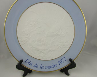 VINTAGE - From Spain - Lladro Mother's Plate
