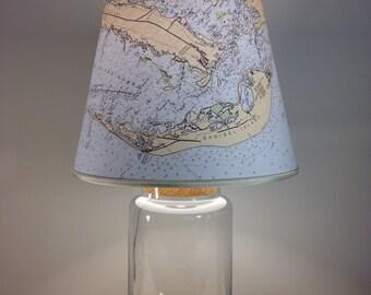 sanibel island fillable lampsanibel lampchart lamp seashells