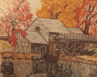 MABRY MILL America Landmarks Charted Graph for Cross Stitch Jean Lanning