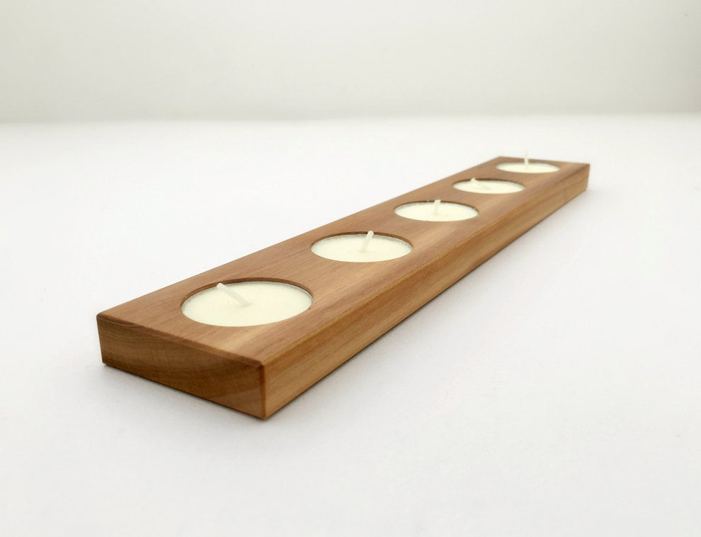 Candle Holder Wood Tea Light Holder