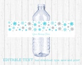 Snowflake Water Bottle La...