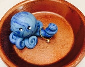 Octopus Mini Marble Friend Ring Holder Jewelry Trinket Dish Choose your Colors