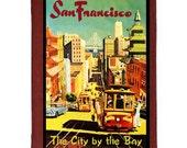 SAN FRANCISCO 5- Handmade Leather Photo Album - Travel Art