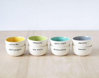 dipping sauce & spice bowls : SALE