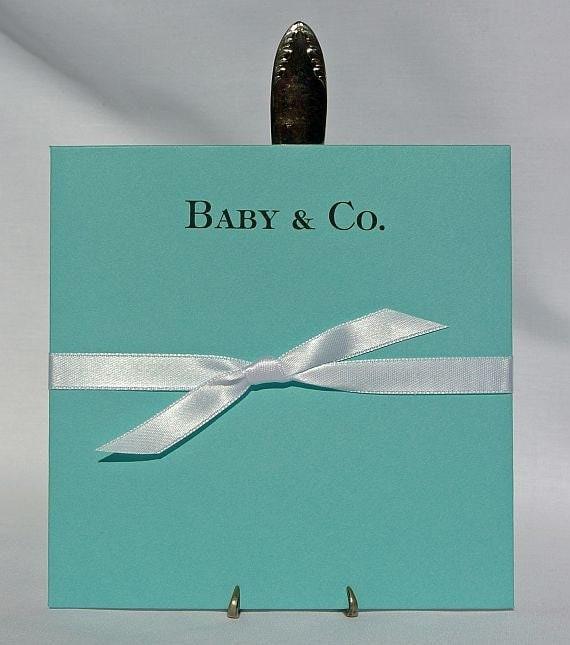 Aqua Blue Baby Shower - Aqua Blue Decorations - Baby Shower Favors