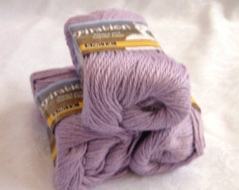 50% off - light PURPLE Alpaca blend yarn,  worsted weight, soy silk yarn, SWTC Inspiration, Relaxation (385)