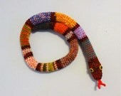 Door Snake Mixed Colors, Crochet Draft Dodger, Door Draft Snake