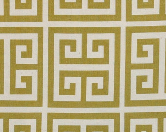Towers Village Green - Olive Green Fabric - Premier Prints Home Decorating Fabric - Green Fabric - One Yard