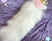 Angelic I love you Royal Kitten Tail, Kitten Tail, Fuzzy Tail
