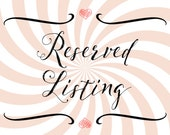 Reserved Listing for Y.