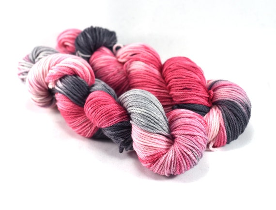 Monuments and Blossoms - Souvenir - Pink DK / Light Worsted Weight Yarn - 100% Superwash Merino Wool