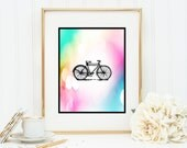 Bike Instant Digital Download DIY Print yourself bicycle