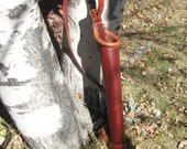 warriors touch Elven Mage - quiver in leather