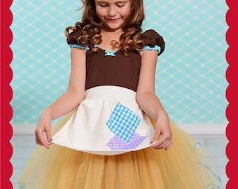 Cinderella dress, Cinderella costume, Princess dress,  girls Halloween costume, princess costume, Lover Dovers, Cinderella rags dress, SALE