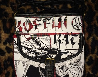 Koffin Kats Crossbody Purse