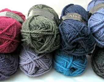 Garnstudio Drops Alaska - Aran Weight New Wool Yarn, Feltable