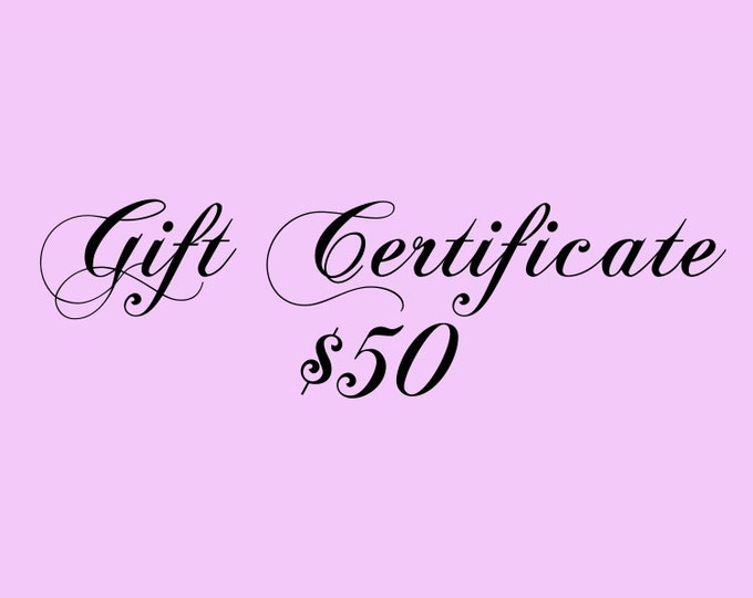 Gift Certificate 50 Dollars for Kauai Art or Art Classes on Kauai