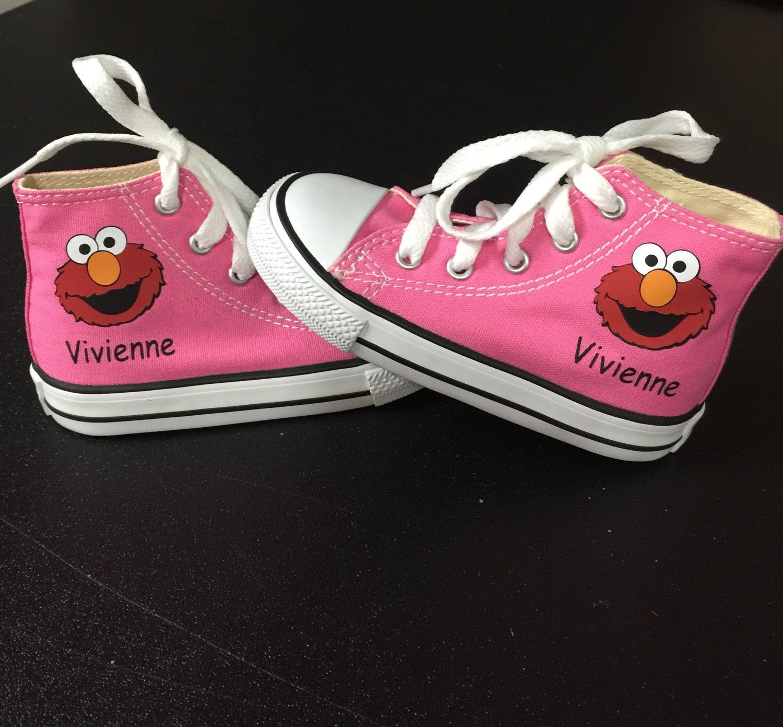 Elmo Shoes Custom Kid Converse Shoes Custom Personalized