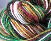 Christmas Velvets Self-Striping Glitter SW Sock Yarn