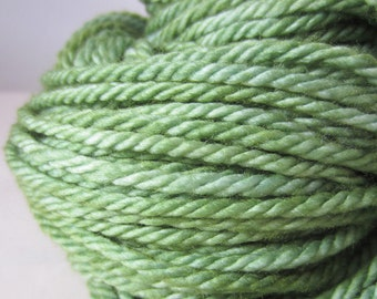 Pine Tree Semi-Solid Bulky yarn
