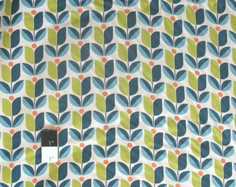 Joel Dewberry RAJD006 Flora Tulip Eucalyptus Rayon Fabric By The Yard