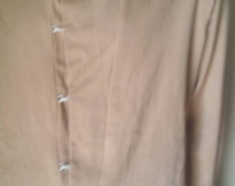 Steampunk Organic Cotton Mens Shirt Hermans ECO XL Natural dyed Grown & made in USA