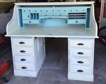 Refurbished Roll top desk