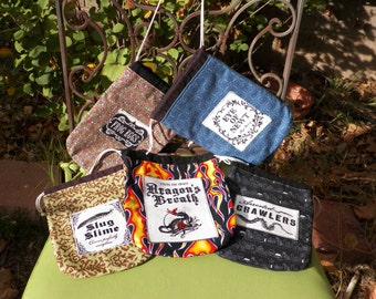 Magical Drawstring Belt Pouch Your Choice of One
