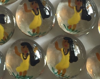 Pocahontas  Glass Gems for crafts , party decorations,  mini art
