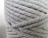3m Thick Unbleached White Rope Cord