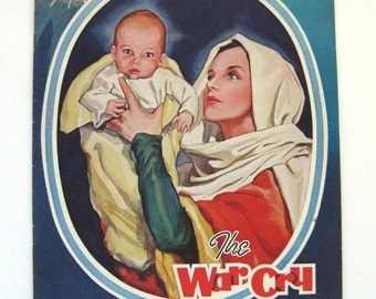 1944 The War Cry Magazine Salvation Army magazine Christmas 1944 religious