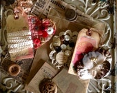 VINTAGE COLLECTION - French Inspired - Fun Old Time Naturals - Collage - Assemblage -  Vignette -