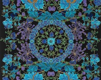 Suffolk Floral Chong-a Hwang Timeless Treasures Fabric Panel