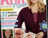 Christmas in july Knit Now Knitting Magazine Issue 41 December 2014