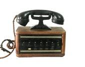 1920s Butlers Phone House Sound System, Vintage Gadget, Art Deco Design