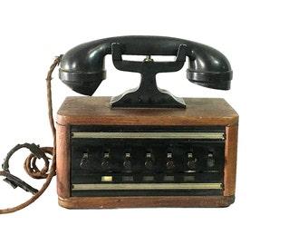 1920s Butlers Phone House Sound System | Vintage Gadget | Art Deco Design