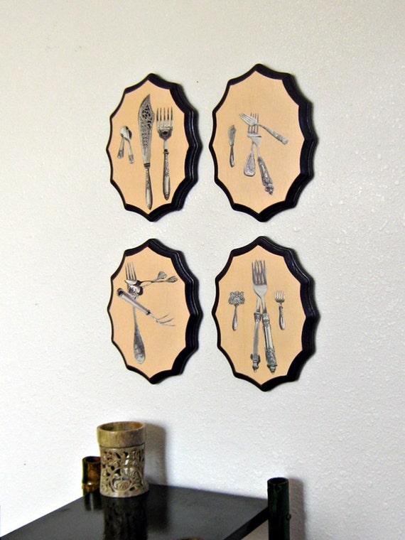 Kitchen Wall Art, Kitchen Wall Decor, Kitchen Decor, Dining Room Wall, Restaurant Art, Dining Room Art, Handmade, Wall Hanging 4