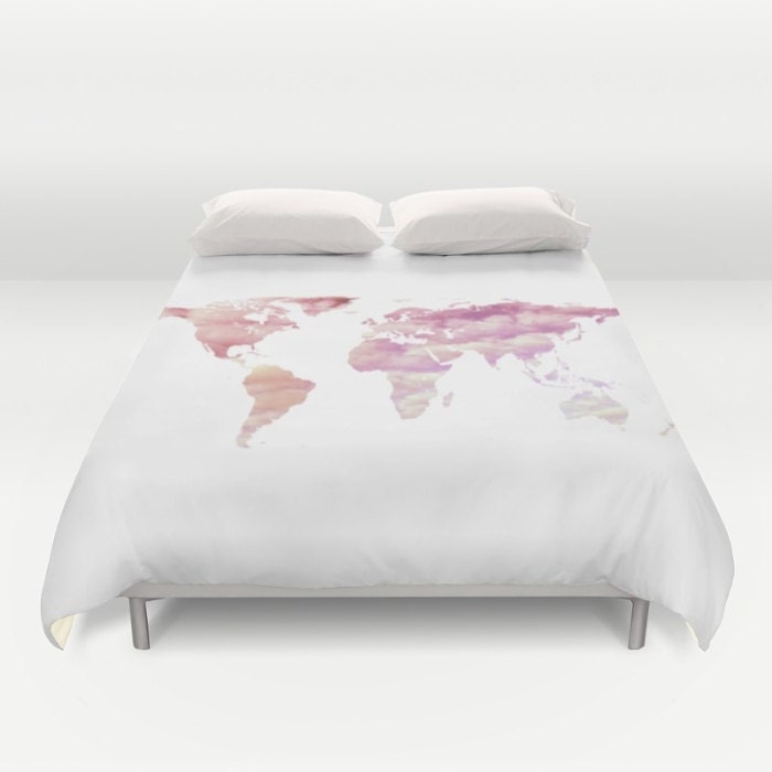 Ocean texture map duvet cover cotton candy sky world map bedding ocean texture map duvet cover cotton candy sky world map bedding bedroom blanket black white bedding dorm bedding modern bedding gumiabroncs Gallery