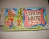 Vintage 1962  CandyLand Board Game by Milton Bradley