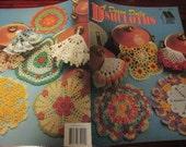 Crochet Patterns A Dozen Doily Dishcloths Annie's Attic 350 Crocheting Pattern Leaflet