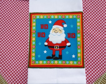 Festive Tea Towel White (560)