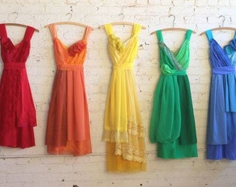 Individual Final Payments for Christine Neely's Custom Bridesmaids Dresses