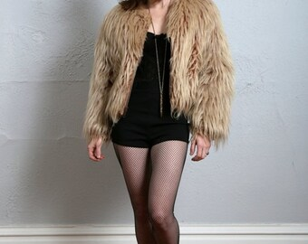 ON SALE Faux Fur Coat