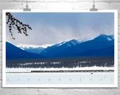 Colorado Art, Rocky Mountains, Winter Art, Trains, Railroads, Snowy, Winter Landscape Photography, Murray Bolesta